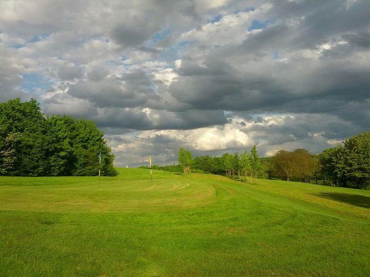 Golfplatz, Pitching Bereich.