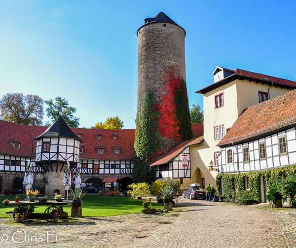 exelent Hotel! Architecture Built Structure Building Exterior Sky Day Outdoors Residential District Travel Destinations Old Castle German Castle Hotel Spa Castle Tower