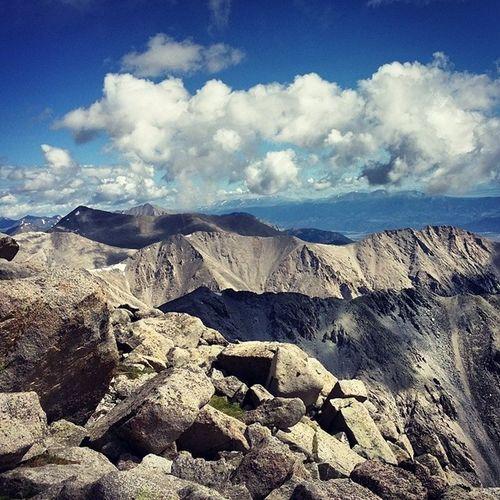 Mtshavano 14er Colorado Sky hike