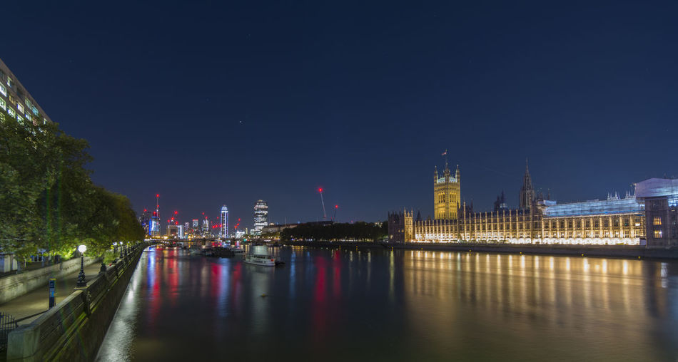 Palace Of Westminster Night Nightphotography Long Exposure Travel Destinations London Uk England Built Structure Architecture Water Building Exterior City Sky River Illuminated Building Waterfront Bridge Tower Reflection Bridge - Man Made Structure Connection No People Tall - High Cityscape Outdoors Office Building Exterior Skyscraper Government Capture Tomorrow