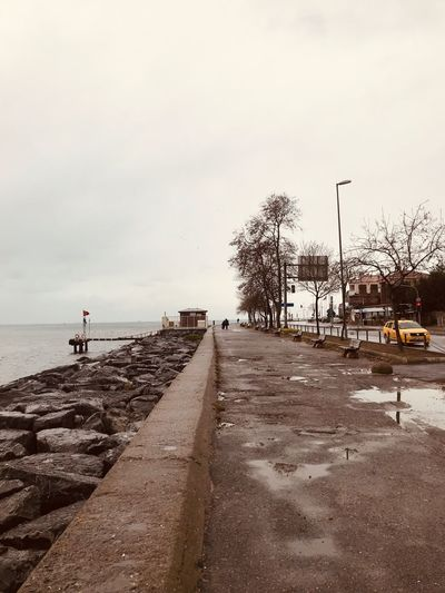The path I didn't walk Sky Land Water Beach Sea Nature Real People The Way Forward Incidental People Sand One Person Horizon Over Water Transportation Tranquility Beauty In Nature Scenics - Nature Plant Tree Outdoors Day