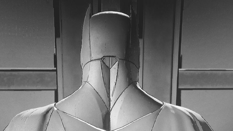 Blackandwhite Monochrome Get Closer Batman Telltale Game Video Gaming Batman ❤ Batman Time PS4 My Hobby Time To Relax Playing Videogames People And Places Behind Your Back Watch Your Back