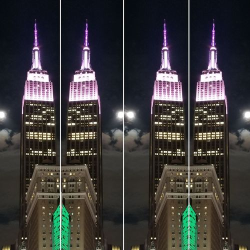 Empire State Abstract at Night New York City Empire State Building Abstract Photography abst mezmerizing brightlights Fine Art Photography UrbanBeauty Urban Skyline Nightsky Hystorical Buildings Tourist Attraction  Mezmerizing Brightlights New York City Empire State Building Abstract Photography Abstract Luxury Interior Design Interior Decorating Advertisement Cityscape Skycraper Night Photography Purple Light Pink Light Clear Sky Moonlight Moon Lights Historical Building Illuminated Close-up Skyscraper The Architect - 2018 EyeEm Awards The Creative - 2018 EyeEm Awards