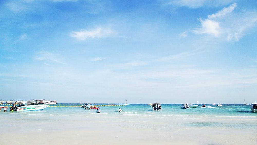 Pataya Summer Cloud - Sky Sky Blue