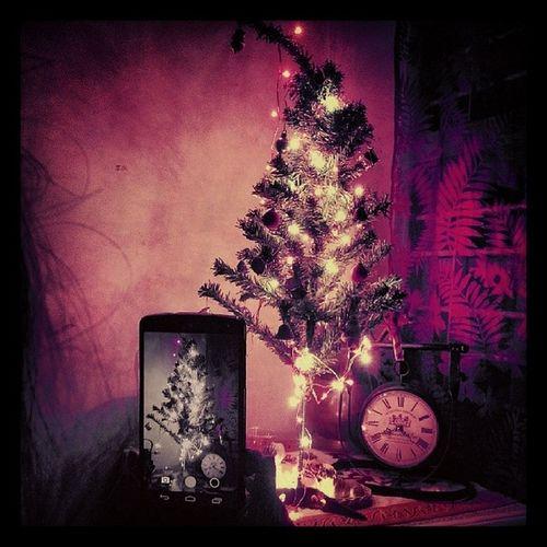 Merry Christmas Everyone!! (: Christmas Christmas Lights A Frame Within A Frame Christmas Tree