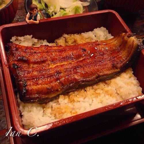 鰻魚飯? Food  フチ子