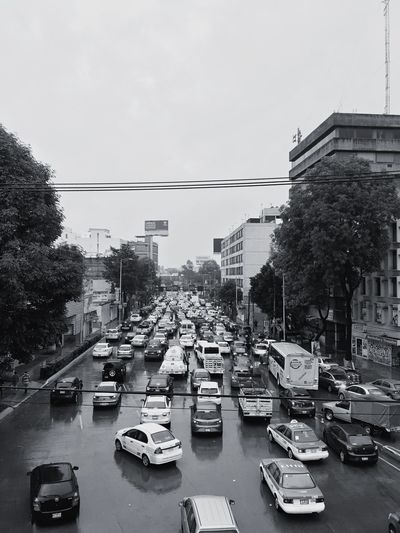 A rainy and transited day Cars I Love My City Streetphotography Streetphoto_bw Street Life Buildings On The Road Blackandwhite Follow4follow Mexico City B&w Street Photography Flying High Mobility In Mega Cities