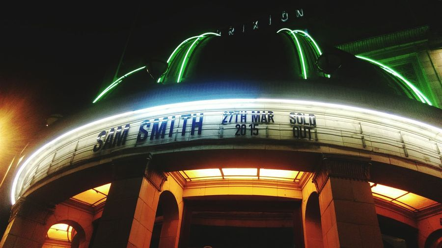 Brixton Academy London Sam Smith Concert