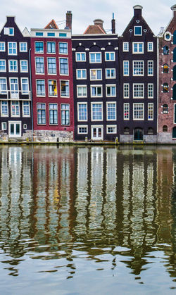 Amsterdam Amsterdam Canal Amsterdam Trip Amsterdamcity Cloudy Colors Coloured Houses Day Visit Amsterdam Water Water Reflections Battle Of The Cities