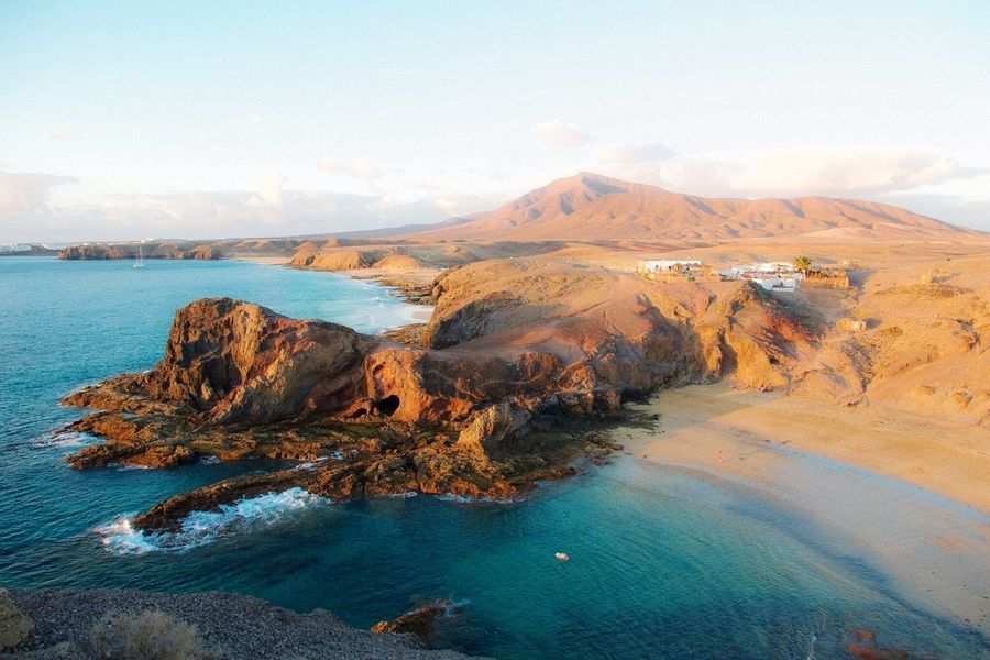 Lanzarote Island Papagayo Beach Photography Landscape Beautiful Nature Sea Amazing View Brasileiros Pelo Mundo