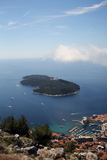 Dubrovnik from above iv Arial Beauty In Nature Croatia Day Dubrovnik Holiday Horizon Over Water Mediterranean  Nature Nautical Vessel No People Outdoors Scenics Sea Sky Tourism Tranquil Scene Tranquility Travel Travel Destinations Water