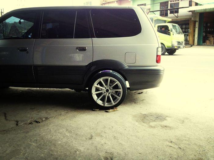 Fitment to my speziale Kijang Krista Toyota Stance