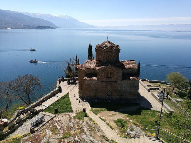 Ohrid Ohrid Lake Macedonia Macedonian Beauty Water Nature Travel Destinations Sky Outdoors Lake Day