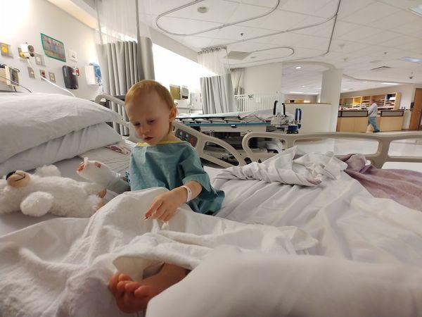 Capri in prep room before her surgery. PortraitPhotography Fujifilmglobal Hospital Pediatrics Surgery Brave Myhero Child Childhood #urbanana: The Urban Playground Be Brave