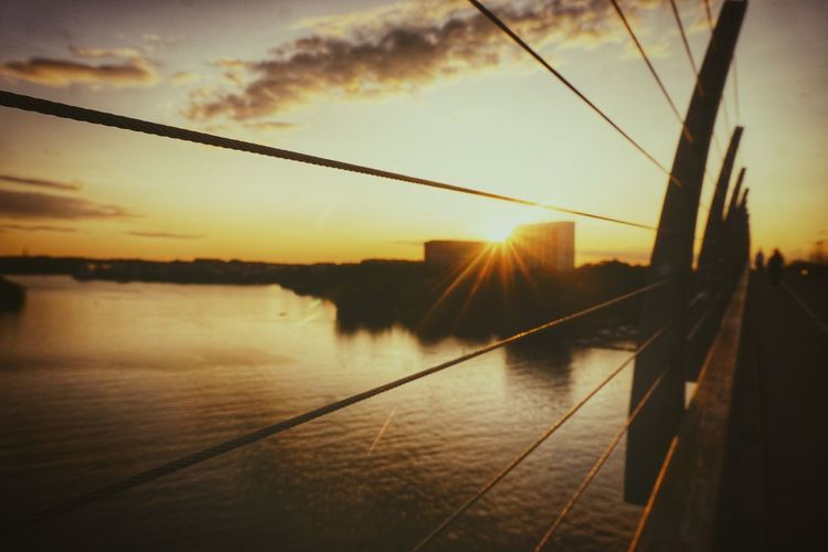 Fence 2019 Niklas Storm Juli Water City Sunset Cable Reflection Bridge - Man Made Structure Sky My Best Photo My Best Photo The Great Outdoors - 2019 EyeEm Awards The Street Photographer - 2019 EyeEm Awards