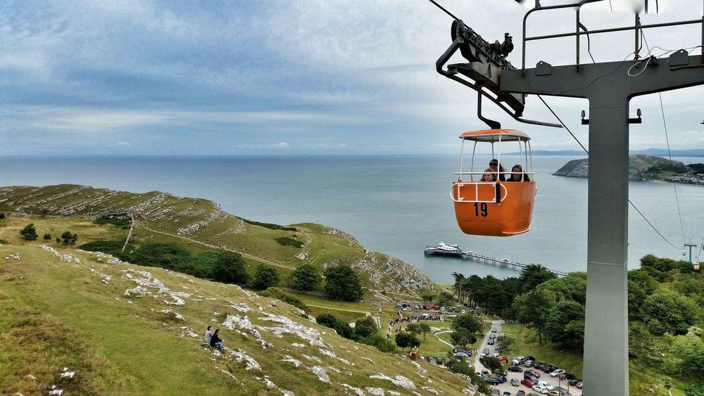 Pier Great Orme North Wales Llandudno Wales Cable Car Happy Valley