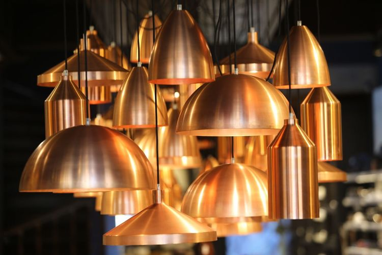 Shertogenbosch brass lamps Canon 70200F2.8 curves Close-up Illuminated Hanging Light Lantern Group Of Objects In A Row Repetition Lit Decoration Arrangement No People Conformity Multi Colored Large Group Of Objects Order The Week On EyeEm