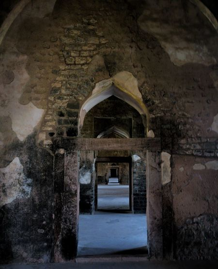 Indoors  Built Structure Architecture Arch Historical Place Oneplus3T Mobile Photography Architecture Tourism India History Jahajmahal
