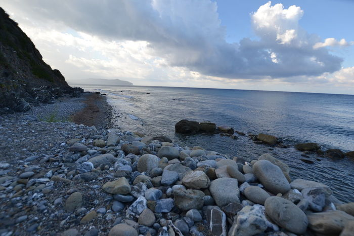 Italy: Cilento landacape No People Sun Views Water Sea Cloud - Sky Italy Rocky Coastline Seascape Rugged Coastal Feature Coast Coastline