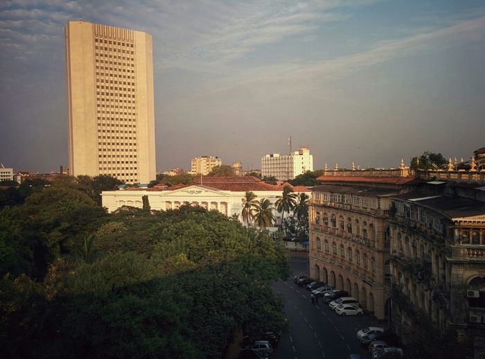 Reserve Bak Of India Horniman Circle Office View Mumbai