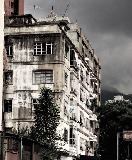 Building Exterior Architecture Built Structure Outdoors Window City Old Buildings Tired Poverty Century21 Socialism Rich Country Poor People Guilty War Caracas City