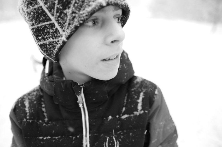 Jack on a Snow Day