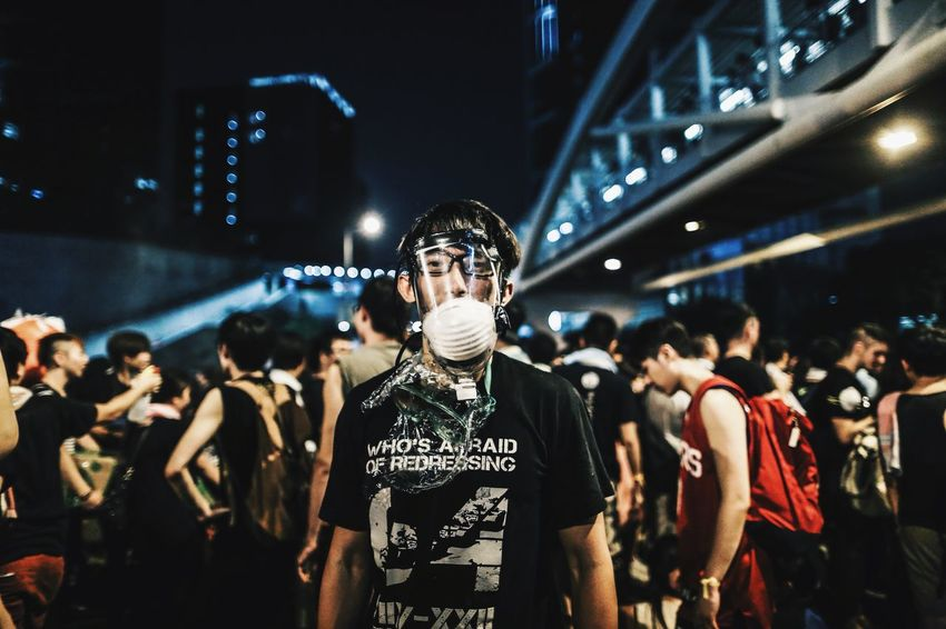 Civil disobedience involving mass sit-in street protests occurred in Hong Kong from 26 September to 15 December 2014. Commonly known as Occupy Central (佔中), also Umbrella Revolution and sometimes interchangeably Umbrella Movement. (Sources from Wikipedia) Cityscapes Documentary Eye4photography  EyeEm Best Shots Fight For Freedom HongKong Hongkonger Protest Revolution Showcase: November Student Umbrella Umbrella Revolution Urbanphotography What We Revolt Against Wish Yellow