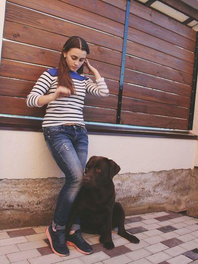 ❤ Hi! Enjoying Life Love Dog