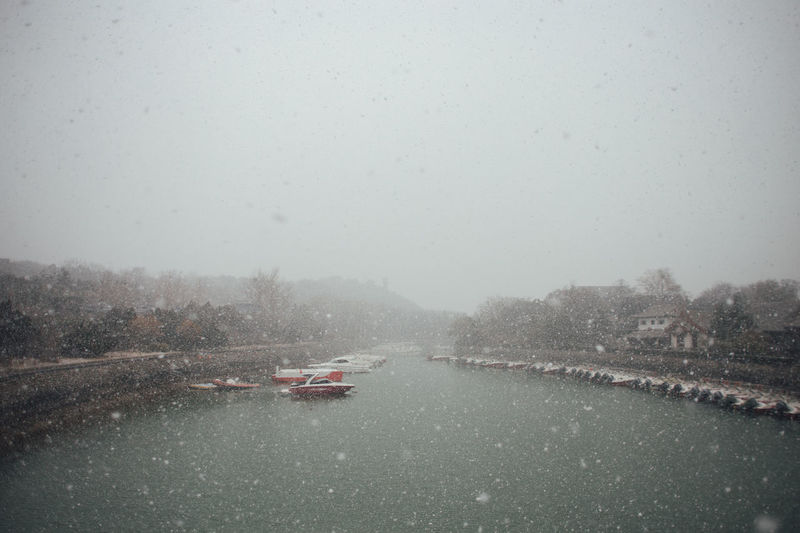 Ancient Chinese Legend City Walls First Snow Penglai Travel Winter Wintertime Beauty In Nature China Cold Cold Winter Dreamy Eight Immortals Landscape Nature No People Sea Sky Snow Snowing Storyland Transportation Water Winter Wonderland Shades Of Winter