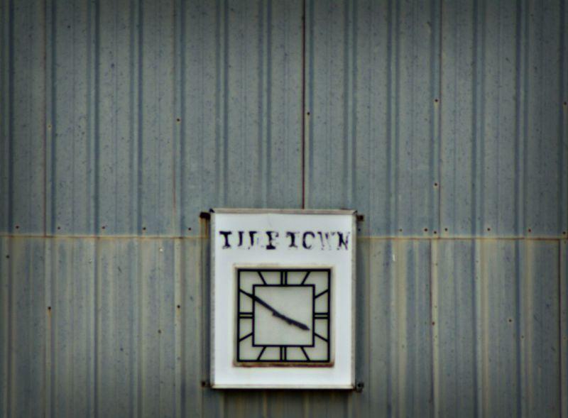Clock Hello World Checking In Taking Photos