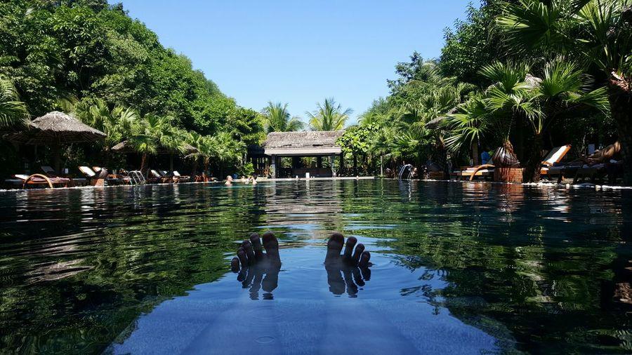 Relax Relaxation Bliss Pool Luxury Vietnam Huế PilgrimageVillage