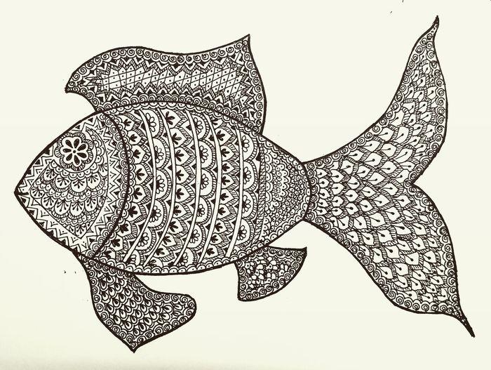 Zendoodle Fish