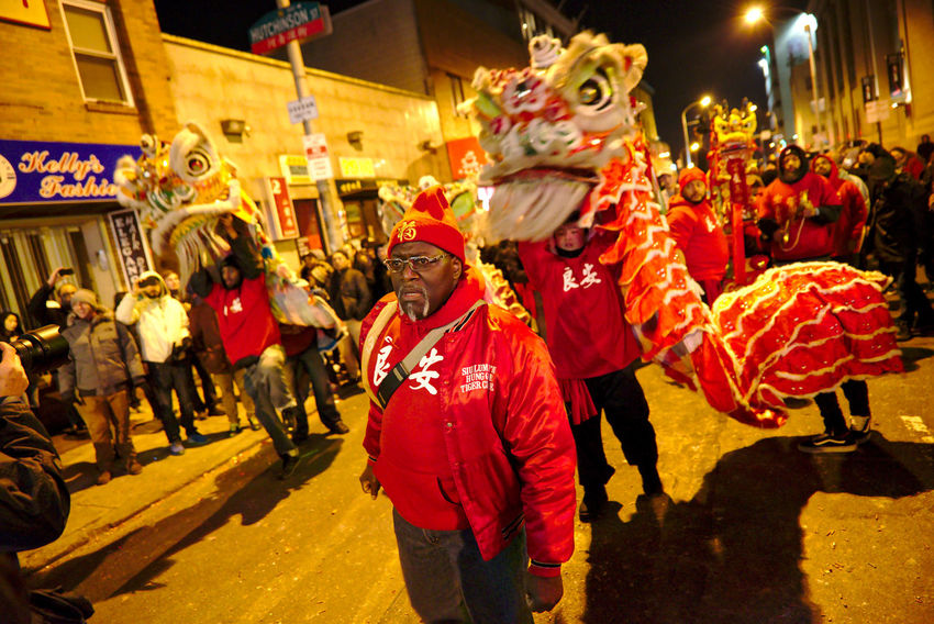 Philadelphians celebrate the Year of the Rooster with Chinese lion dances, fire crackers and more. Celebration China Town Phil Chinatown Chinese Dragon Chinese New Year Chinese New Year 2016 Chinese New Year 2017 Color Colorful Costume Crowd Cultures Large Group Of People Light Mask - Disguise Night Photography People People Watching Performing Arts Event Philadelphia