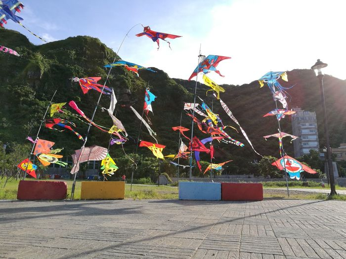 A sky full of skies..... Outdoors Sky Multi Colored No People Day Leicacamera Travel Destinations 台灣 P9 Huawei HuaweiP9 Beach Huawei P9 Leica Huaweiphotography Taiwan Asian Culture Taiwanese Culture Skies Celebration