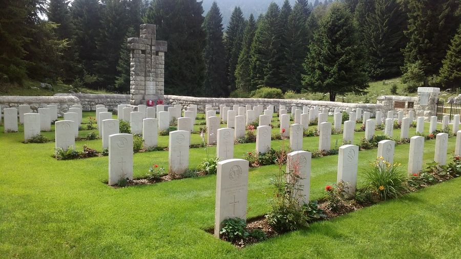 Cemetery Death Famous Place Grass Grave Graveyard History In A Row Memorial Memories Military Monument Place Of Burial Place Of Worship Religion Spirituality Stone - Object Stone Material The End The Past Tombstone Tree UNESCO World Heritage Site