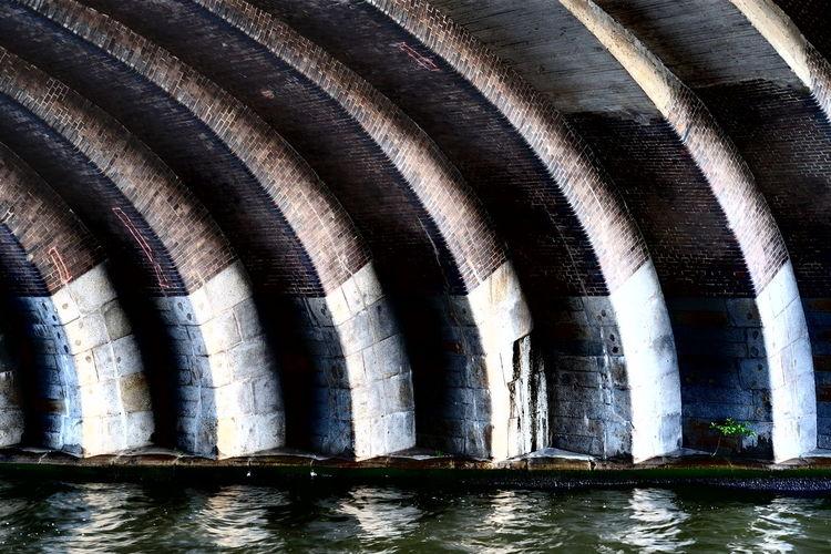 Full frame shot of river