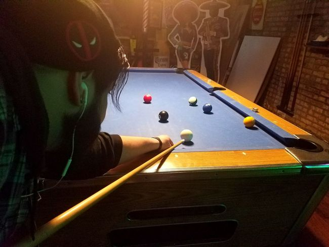 We have smooth shafts and shiny balls. Pool 8-ball Bar Having Fun Bar Life Billiards Pool Stick Enjoying Life Friday Night