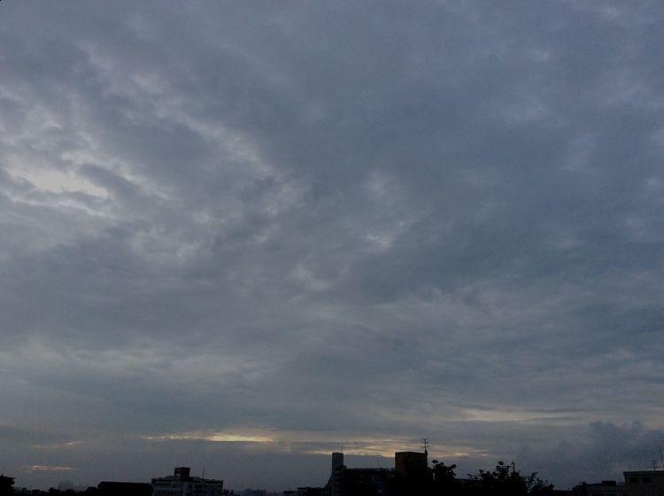 おはようございます☁️ Sky And Clouds Good Mourning Taking Photos