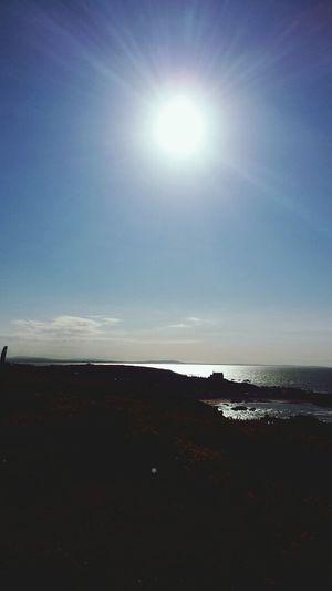 Findochty Walking Sunshine