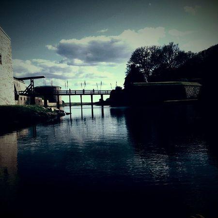 Kalmar by water... Kalmar Castle Slott Boat