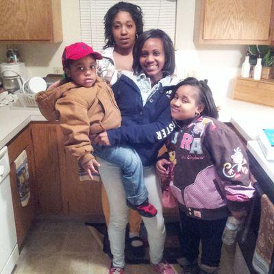 Me My Sister Niece And Nephew