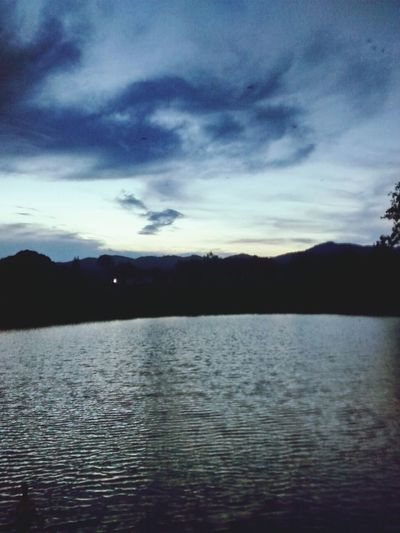 sun goes dow ❤ Enjoying Life