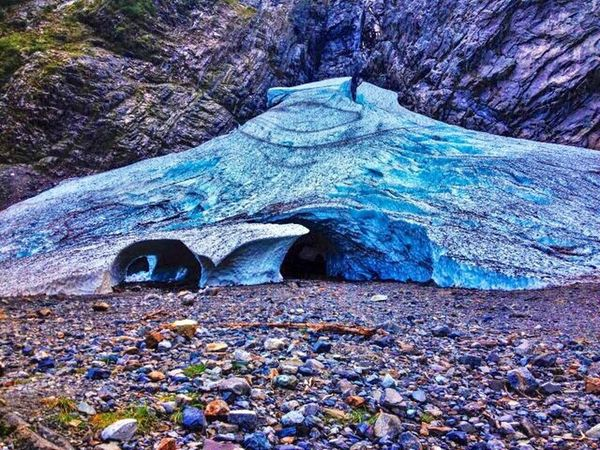 Big Four Ice Caves near Granite Falls, Washington Rock - Object Nature Beauty In Nature Tranquility No People Day Outdoors Scenics Cave