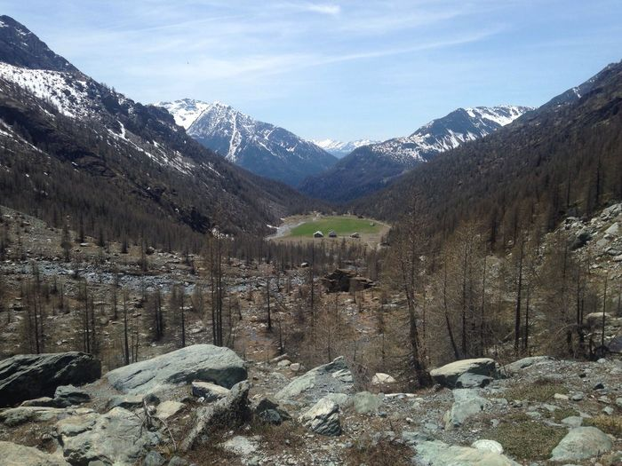 Valley Valley View No People Trekking Alps Outdoors Beauty In Nature Mountain Mountains TrekkingDay