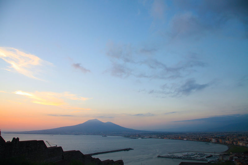 Italia Napoli Napoli ❤ Travel Vesuvio Architecture Beauty In Nature Building Exterior Campania Cloud - Sky Day Italian Landscape Landscape_photography Mountain Napoliphotoproject Nature No People Outdoors Photography Scenics Sea Sky Sunset Water Stories From The City