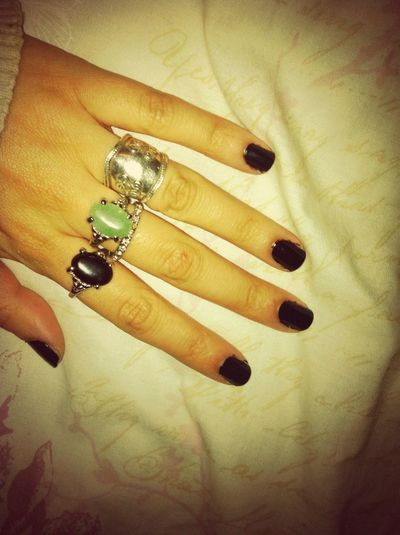 #nails #rings #fashion