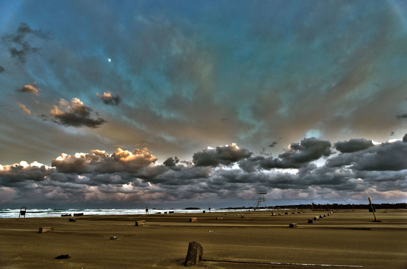 Beach Beauty In Nature Cloud - Sky Environment Landscape Nature No People Storm Tranquility