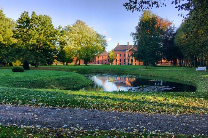 Schloss Bothmer Klūtz Castle Park Pond