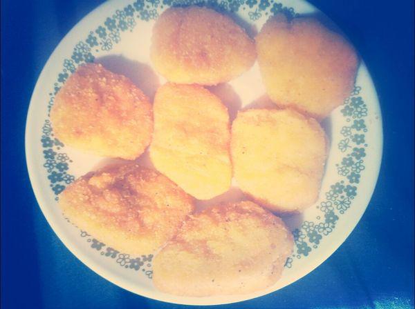 yumm!!! chicken nuggets