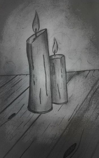 Drawing на работе карандаш учусь рисовать